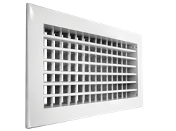 Настенная двухрядная решетка Shuft 2 WA 400*150 - фото 1752535