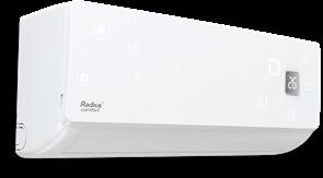 Инверторный кондиционер сплит-система RADIUS RA-COI12HP