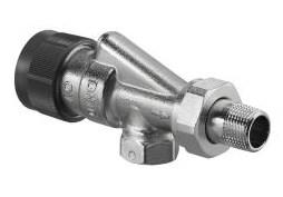 Термостатический вентиль Oventrop DN-15 1/2  ВН серия A осевой