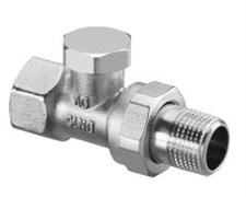 Запорно-балансировочный вентиль Oventrop Combi 2 DN-15 1/2  ВН НГ со штуцером