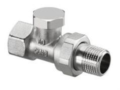 Запорно-балансировочный вентиль Oventrop Combi 2 DN-20 3/4  ВН НГ со штуцером