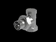 Запорно-балансировочный вентиль Royal Thermo Вентиль на обратную подводку угловой 3/4