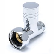 Вентиль прямой запорный Ника Вентиль запорный прямой Luxon LX-850 1г - 1/2ш