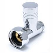 Вентиль прямой запорный Ника ZZ4701 3/4г - 1/2ш