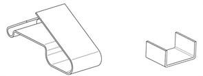 Зажим крепежный СР/Т.1-25 Ц Гамма