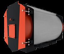 Котел промышленный водогрейный Polykraft Duotherm 200