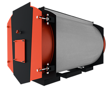 Котел промышленный водогрейный Polykraft Duotherm 300