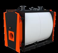 Котел промышленный водогрейный Polykraft Ultratherm 750
