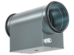 Электрический нагреватель для круглого канала EHC 200-6,0/2