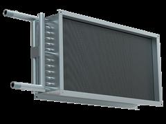 Водяной нагреватель для прямоугольных каналов WHR 500*250-2