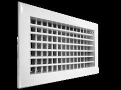 Настенная двухрядная решетка Shuft 2 WA 400*200