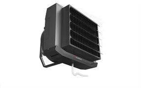 Водяной тепловентилятор FLOWAIR LEO COOL XL4 BMS в комплекте с консолью