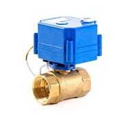 Кран шаровой с электроприводом AquaBast - 1  (ВР/ВР, PN40, Tmax 100°C, вр.закр. 10 cек)