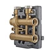 Коллектор котельной разводки WARME WC140 - 1 1/4 на 1 контур 1 1/4 (в теплоизоляции)