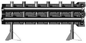 Коллектор распределительный на 3 контура PN10 Meibes Victaulic V 150