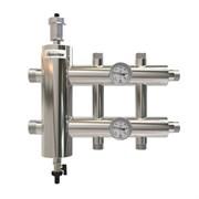 Коллектор с гидроразделителем ПроксиТерм GSK - 1 1/4 на 1+1+1 контур 1  (НР, для котлов до 85 кВт)