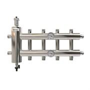 Коллектор с гидроразделителем ПроксиТерм GSK - 1 1/4 на 2+1+2 контур 1  (НР, для котлов до 85 кВт)