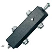 Гидравлический разделитель FAR 2161 - 2  (НГ, с теплоизоляцией, слив.краном и воздухоотводчиком)