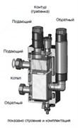 Разделитель гидравлический Meibes МНK 25 (2 м^3/час, 60 кВт при 25 °C), Ду25