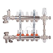 Коллекторная группа для теплого пола ICMA K0111 - 1  на 12 контуров 3/4 EK (со смесительным узлом)