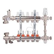 Коллекторная группа для теплого пола ICMA K0111 - 1  на 6 контуров 3/4 EK (со смесительным узлом)