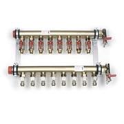 Коллекторная группа для радиаторного отопления REHAU IVKK - 1 1/2 на 10 контуров 3/4  Резьбозажимное