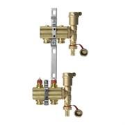 Коллекторная группа для радиаторного отопления Danfoss FHF set - 1  на 2 контура 3/4 Евроконус