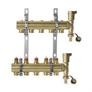 Коллекторная группа для радиаторного отопления Danfoss FHF set - 1  на 5 контуров 3/4 Евроконус