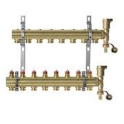 Коллекторная группа для радиаторного отопления Danfoss FHF set - 1  на 8 контуров 3/4 Евроконус
