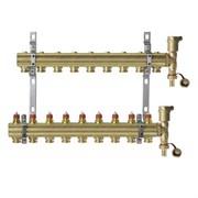 Коллекторная группа для радиаторного отопления Danfoss FHF set - 1  на 9 контуров 3/4 Евроконус