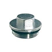 Заглушка с наружной резьбой для коллектора FAR 4150 - 1 1/2 (цвет хромированный)
