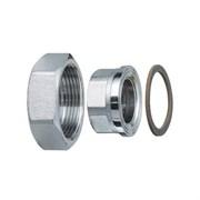 Переходник для циркуляционного насоса FAR 8346 - 1 1/2 x 1  (НГ/ВР, с уплотнительным кольцом)