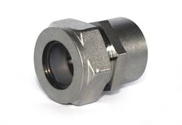 Муфта переходная латунная Stahlmann (F) 20х3/4 EF с никелевым покрытием