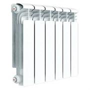Алюминиевый радиатор Rifar Alum 350 6 секц. (RAL35006)