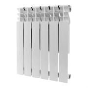 Алюминиевый радиатор Rommer Plus 500 6 секций (89563)