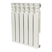 Биметаллический радиатор Rommer Optima Bm 500 6 секций (89571)