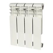 Биметаллический радиатор Rommer Profi Bm 350 4 секций (86629)