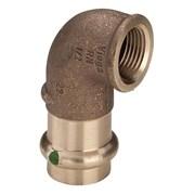 Отвод 90° Viega G3 Sanpress 2214.2 - 42 x 1 1/2
