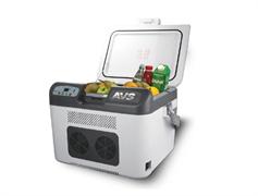 Термоэлектрический автохолодильник AVS CC-27WBC(программное цифровое управление, USB-порт) 27л 12V/24V/220V