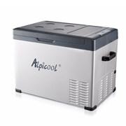 Китайский автохолодильник компрессорный Alpicool C40 (40 л.) 12-24-220В черный