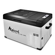 Автохолодильник компрессорный Alpicool C30 (30 л.) 12-24-220В черный
