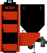 Твердотопливный котелMetal Fach Seg Bio 100