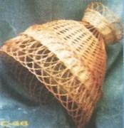 Абажур плетеный