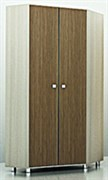 Шкаф для одежды ЛШУ 01 (угловой)