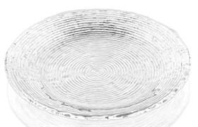 Тарелка прозрачная IVV WAVE 28 см