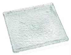 Тарелка прямоугольная прозрачная IVV DIAMANTE 31,5х31,5 см
