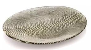 Тарелка овальная бежевая IVV DIVINA 39х33 см
