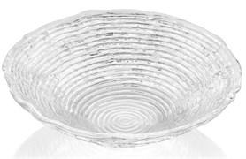 Салатник прозрачный IVV WAVE 19 см