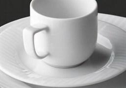 Блюдце чайное 16 см G.Benedikt DIANA IVORY
