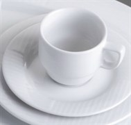 Блюдце кофейное 16 см G.Benedikt DIANA IVORY